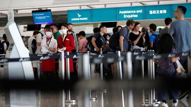 Penerbangan Dijadwal Ulang Karena Bandara Hong Kong Kembali Operasi