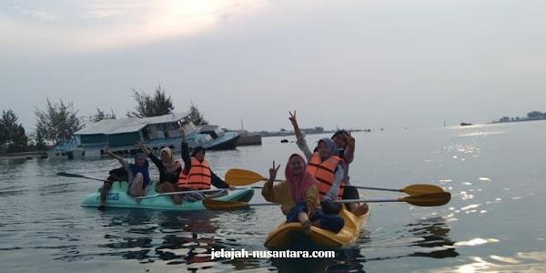 permaianan watersport private wisata pulau harapan
