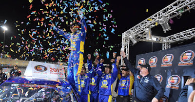 Gillliland Clinches Second Straight K&N Pro Series West Championship Title #KNWest #NASCAR