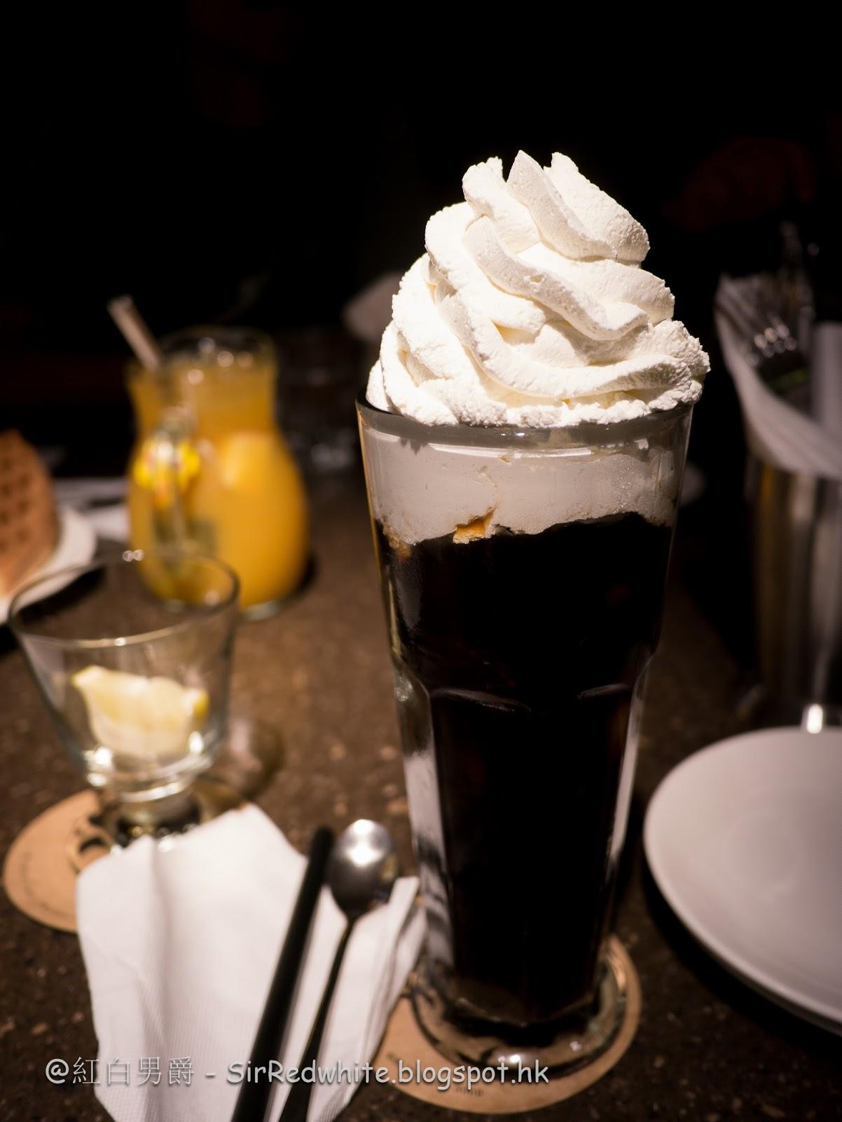 紅白男爵: 冰鮮果茶才是主角 - 咖啡弄