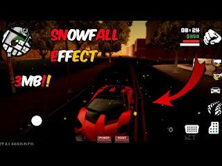 [3MB] SNOW FALL MOD IN GTA SA ANDROID    SNOWFALL EFFECT IN GTA SA   