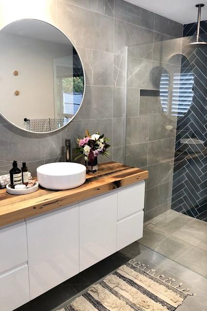 banheiro contemporâneo moderno sob medida decorado