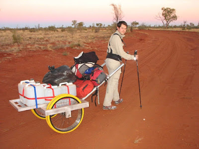 Louis-Philippe Loncke Simpson Desert Trek 2008