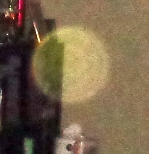 mysterious yellow orb