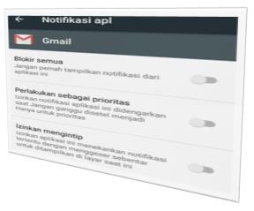 Cara Blokir Notifikasi Aplikasi Android