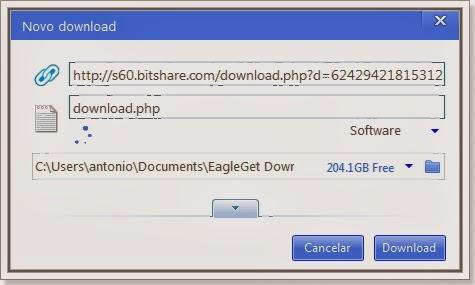 Ensinado a fazer download