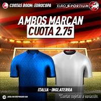 Italia vs Inglaterra Euro2020
