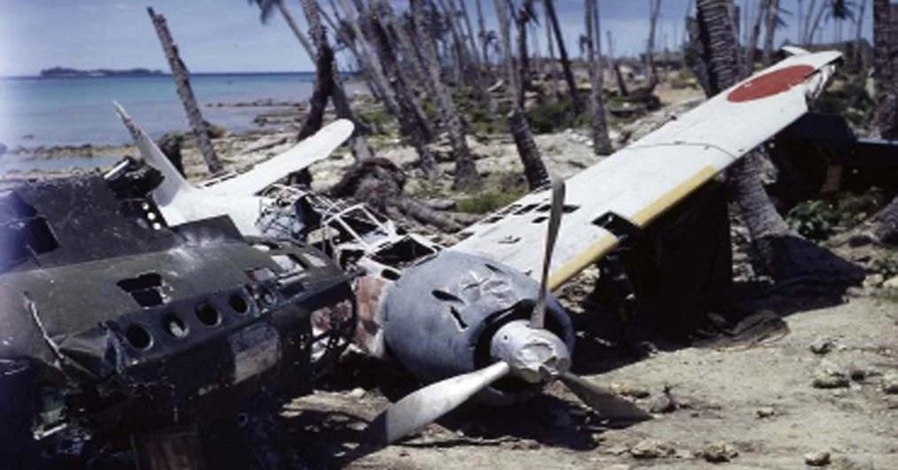 FDRA - Historia de la Defensa: SGM: Encuentran restos de aviones en las Islas  Salomón