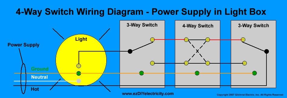 3 Gang Schematic Wiring Saima Soomro 4 Way Switch Wiring Diagram