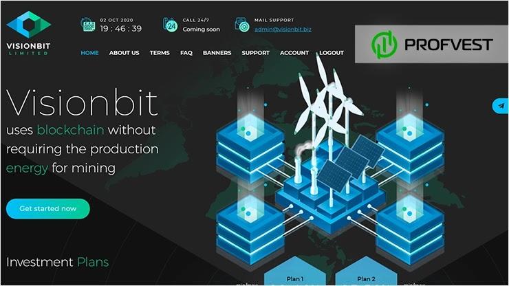 Visionbit обзор и отзывы HYIP-проекта