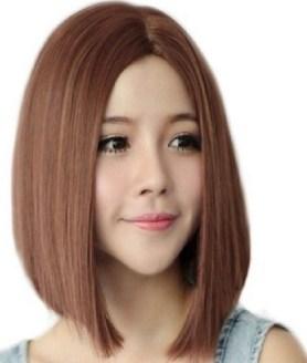 model rambut bob panjang sebahu