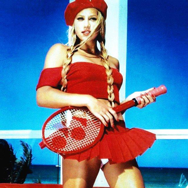 Anna Kournikova aún es la más sexi tenista de siempre
