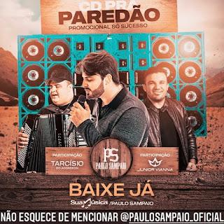 Paulo Sampaio - Promocional - 2021 - Só Sucesso - CD pra Paredão