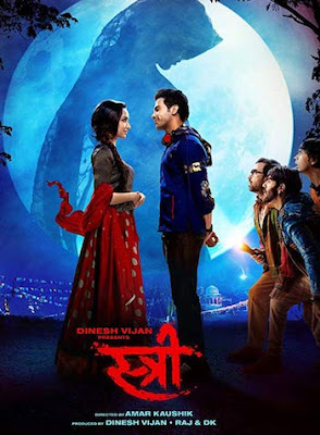 Stree 2018 Hindi 720p HDRip 950MB
