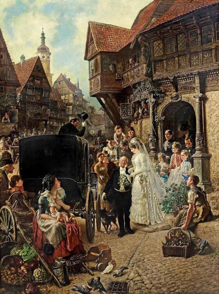 Casamento, Conrad Beckmann (1846 – 1902)