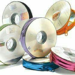 Bolsas e porta moedas de CDs