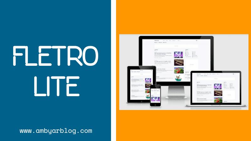 Template Fletro Lite Premium Gratis