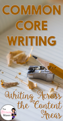 The Common Core writing standards for English and all other subjects are nearly identical. This means that the writing process for argument, information, research etc. should be the the same across the disciplines, only the content will differ. Read on for ways to standardize the writing process across content areas.
