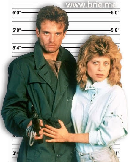 Michael Biehn and Linda Hamilton height comparison