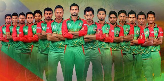 Team Bangladesh for champions trophy 2017