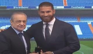 خلال حفل راموس:ريال مدريد يشكر أسطورة النادي