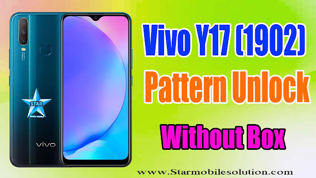 Vivo Y17 (1902) Pattern/FRP Unlock