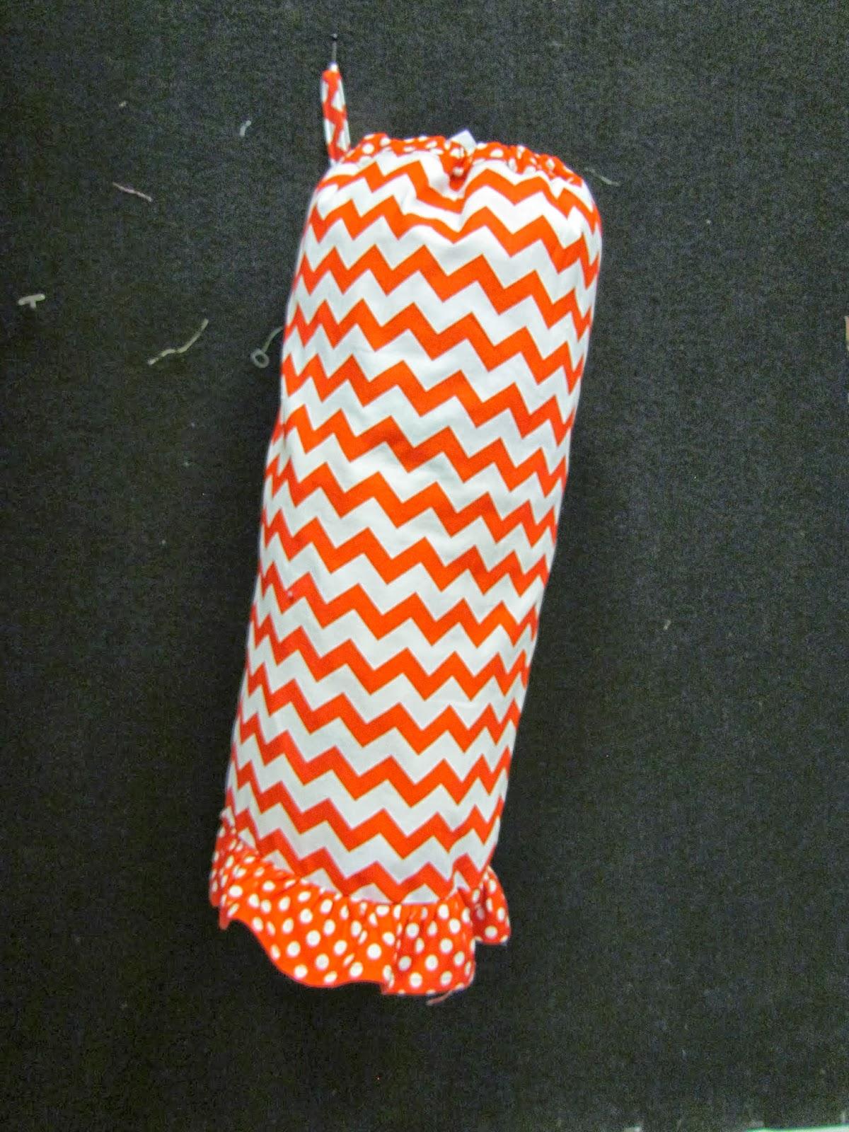Fabric Center Utah: Janet's Plastic Bag Holder Tutorial