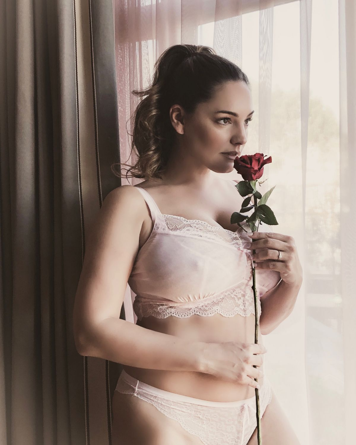 Ana Ortiz Boobs kelly brook huge breasts in valentines day lingerie