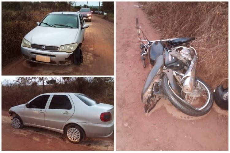 Jovem morre em acidente entre motocicleta e carro na zona rural de Ibicoara