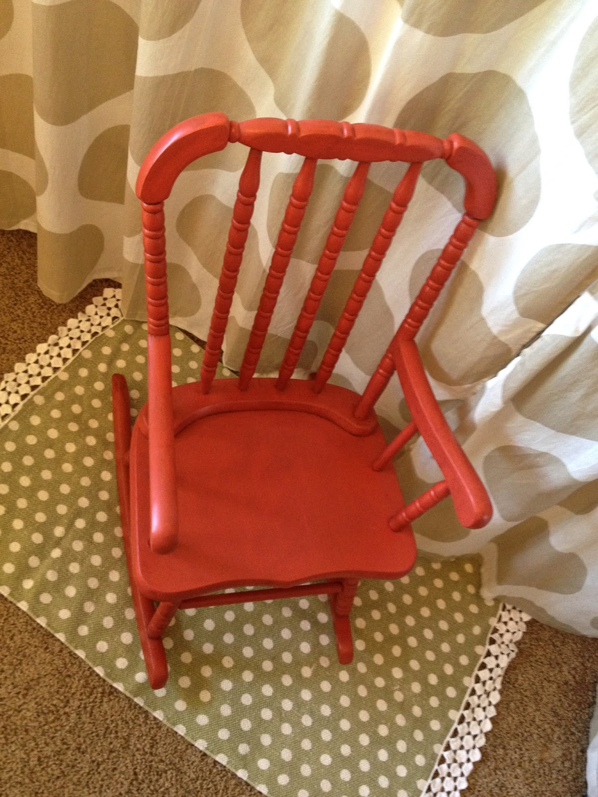 Fantastic Little Red Rocking Chair Part 2 Ivy Co Ncnpc Chair Design For Home Ncnpcorg