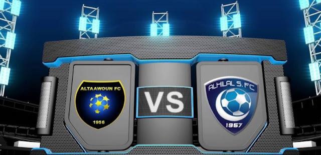 مشاهدة مباراة الهلال والتعاون بث مباشر بتاريخ 29-04-2019 الدوري السعودي