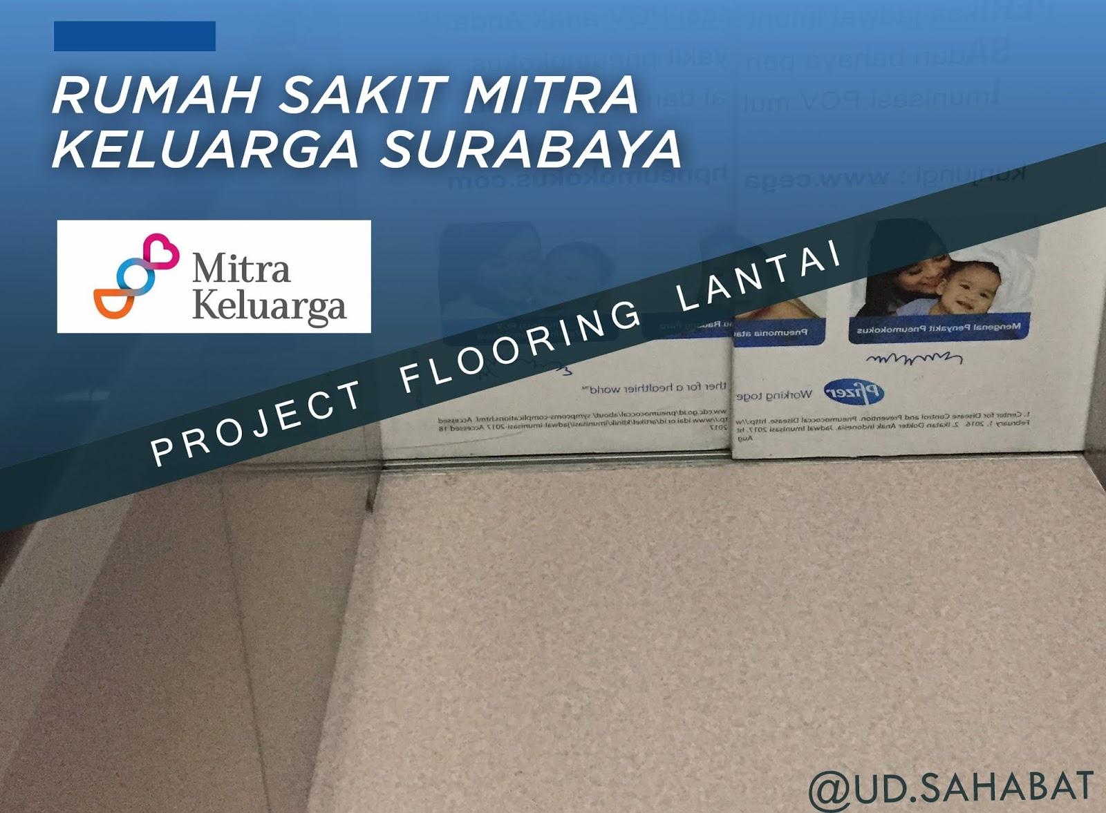 jual lantai flooring vinil rumah sakit anti bakteri