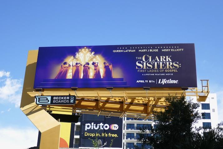 Clark Sisters First Ladies of Gospel movie billboard