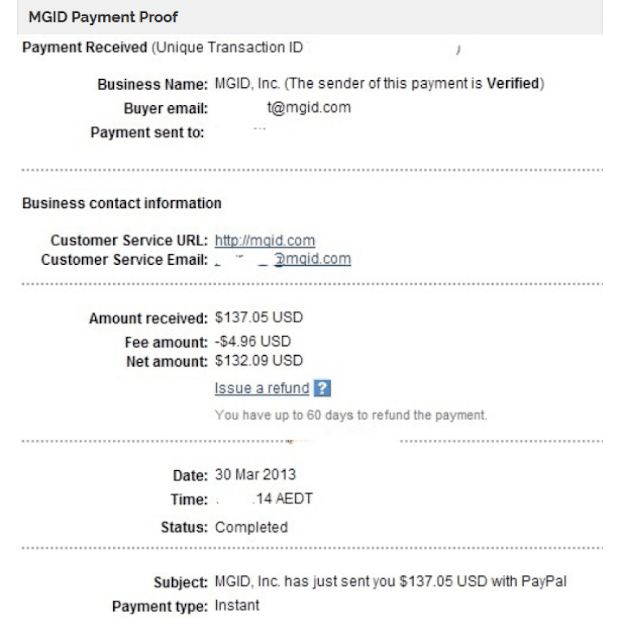 mgid payment proof