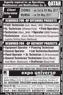 Qatar Petroleum - QP Offshore & Refinery project jobs