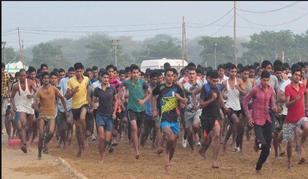 Nalbari  Army Rally, Indian Army Rally, Open Bharti Rally