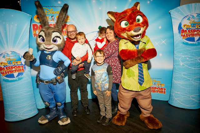 Disney on Ice presents Passport to Adventure at Manchester Arena - Review Judy Hopps Nick Wilde Fit to Dance