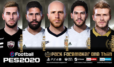 PES 2020 Facepack V2 by One