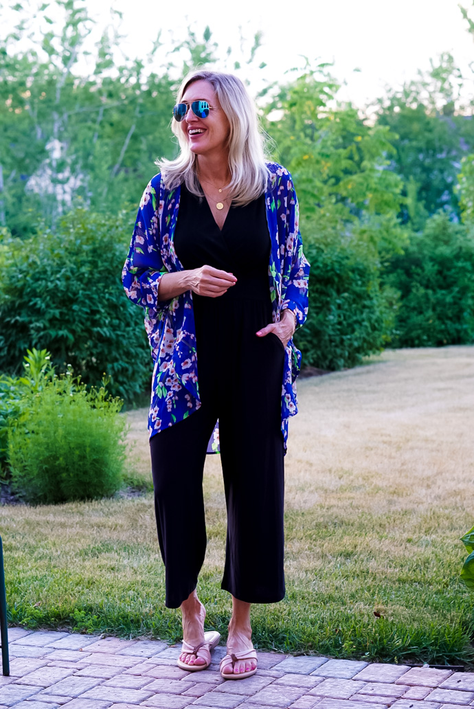 what to wear over a sleeveless jumpsuit
