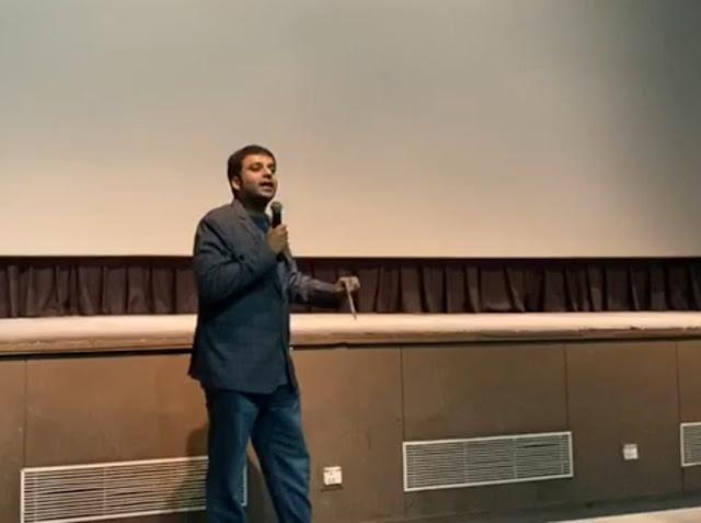 My session on Singaporean film Raman Teh at the 2020 Singapore Indian Film Festival at Siri Fort Auditorium