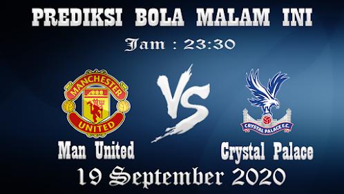 Prediksi Bola Manchester United Vs Crystal Palace
