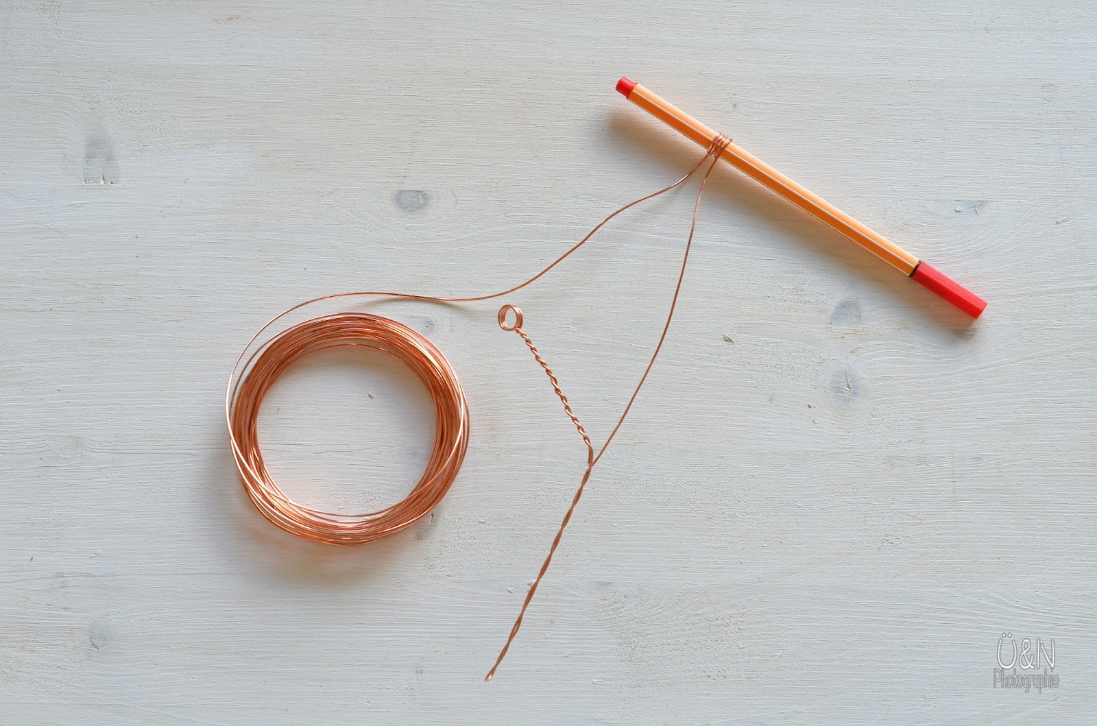 Überall & Nirgendwo: Build a wire tree........aus Kupferdraht ...