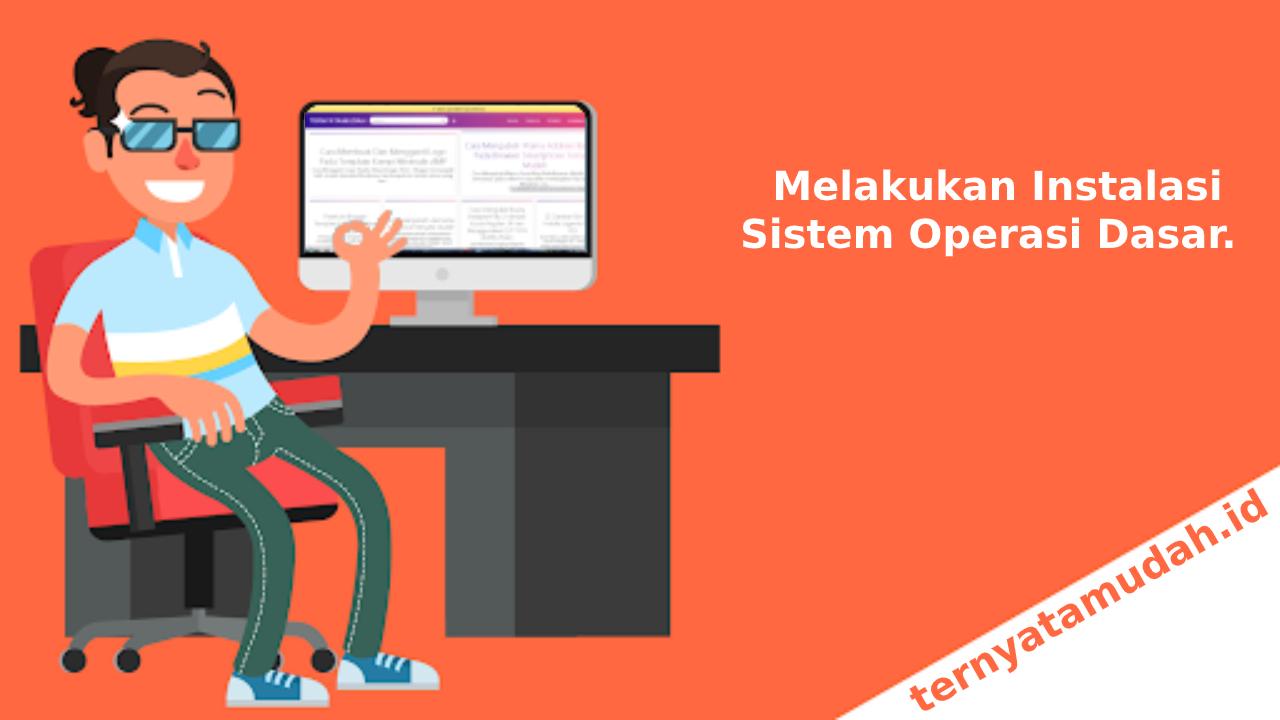 Kunci Jawaban Soal TKJ Melakukan Instalasi Sistem Operasi Dasar