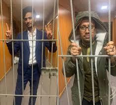 السفير اليمني بروسيا يوجة الشرطة بإعتقال الطلاب المعتصمين