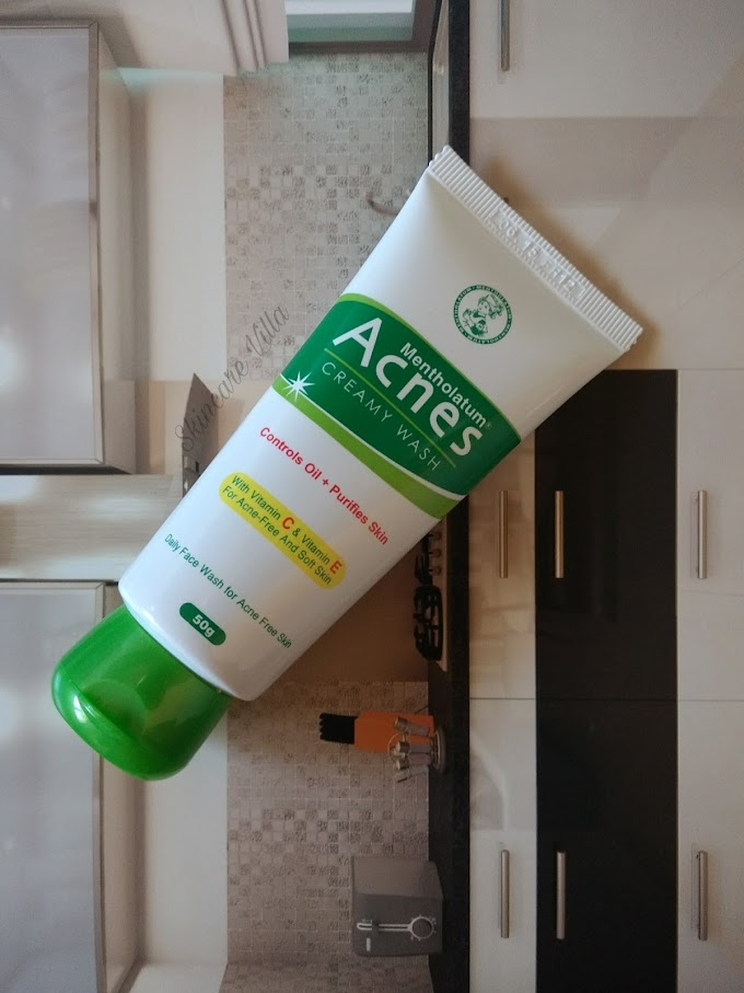 Acnes Creamy Wash Facewash Review