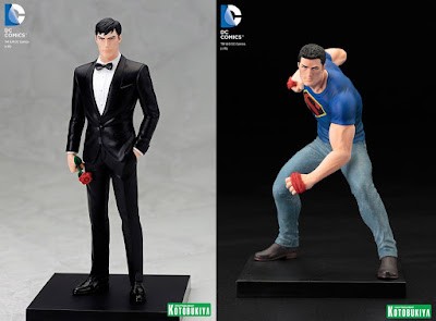 San Diego Comic-Con 2016 Exclusive DC Comics Bruce Wayne & Clark Kent ARTFX+ Statues by Kotobukiya