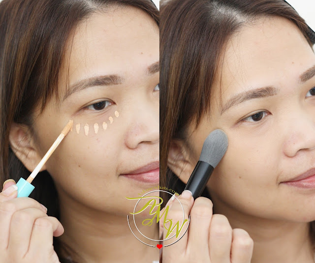 a photo of askmewhats using Happy Skin Bye Bye Blues Brightening Concealer Review
