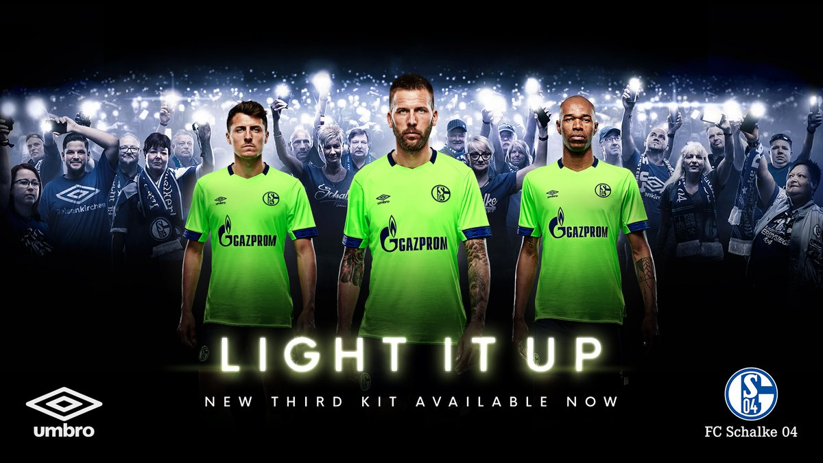 66d0c877c5 Schalke switched from Adidas to Umbro from the 2018-2019 season. Now all of  all three Umbro Schalke 18-19 kits have been finally released, with the  third ...
