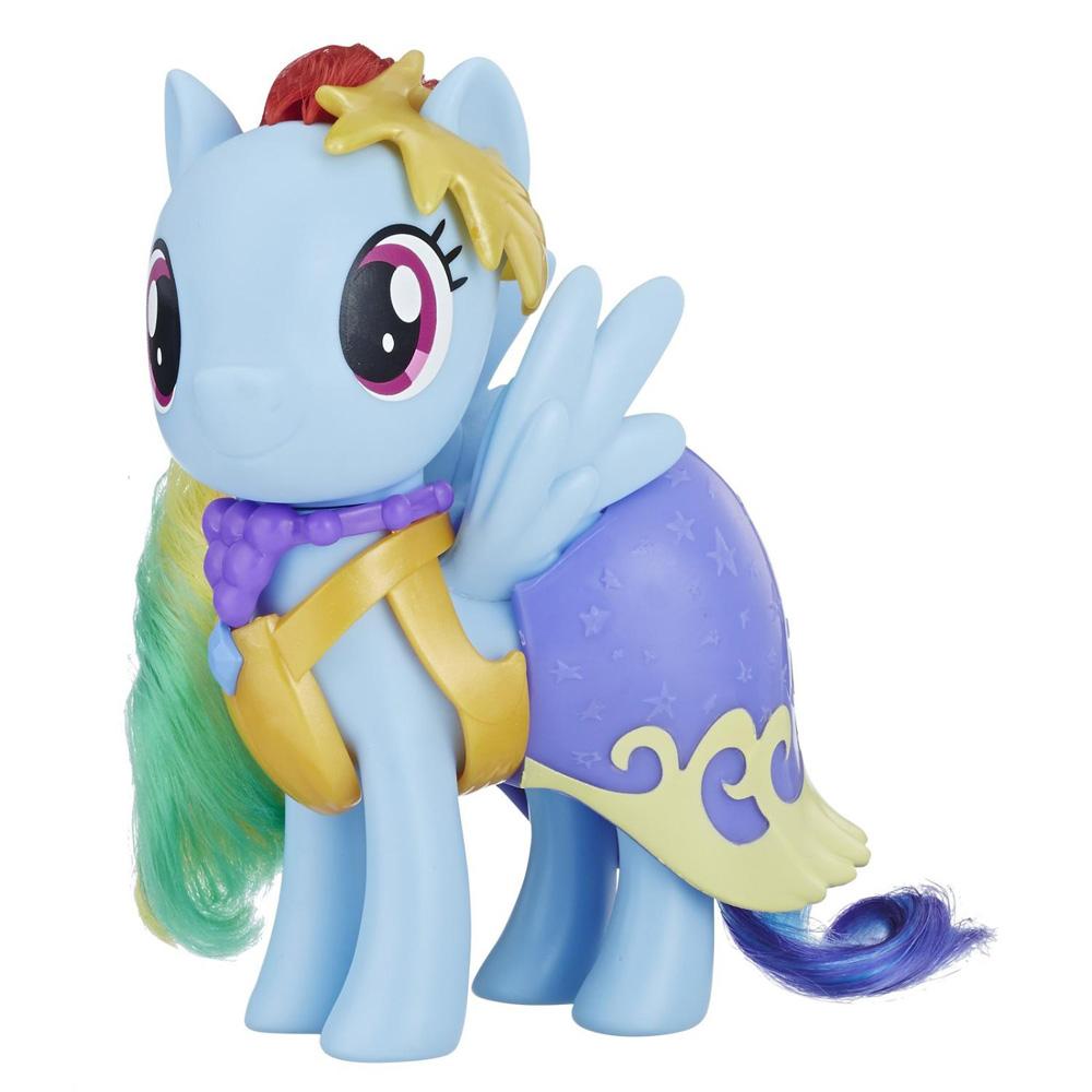 My Little Pony Snap On Fashions Rainbow Dash Brushable Pony Mlp Merch