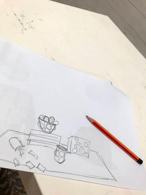 eka piirustus